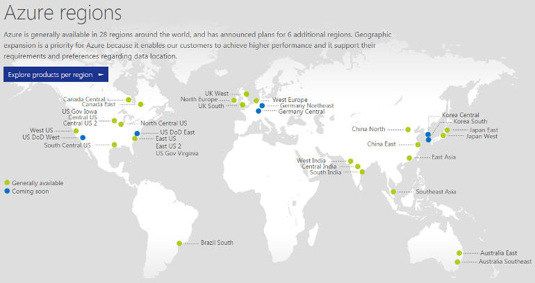 Azure, Office 365: Microsoft's two new cloud regions tackle data
