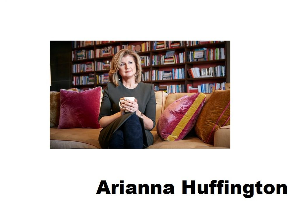 Arianna Huffington: 'The work culture in Silicon Valley needs to change'
