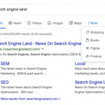 Google launches new search menu with icons