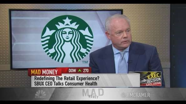 Starbucks CEO