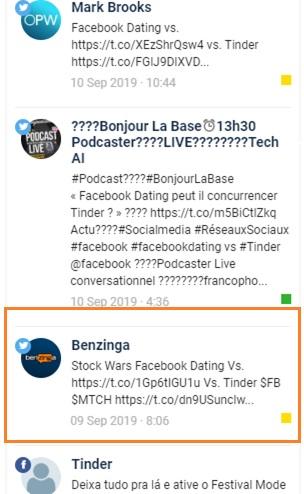 Facebook vs Tinder