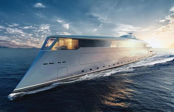 Hydrogen-Powered Yacht