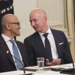 Amazon, Microsoft Tighten Grip on Enterprise Tech