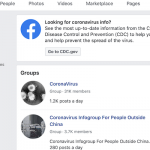 Facebook Pledges to Curb Spread of Misinformation About Novel Coronavirus