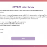 Verily Launches COVID-19 Triage Website, But Only for Some Bay Area Residents