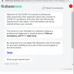 Sharecare Creates Free Embeddable COVID-19 Chatbot Screener