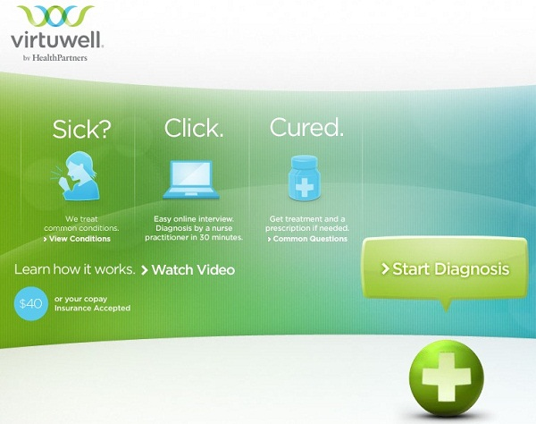 good looking virtualwell.  Virtuwell Launches in California