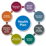 10 health plans with the highest medical enrollment