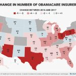 Here's how many insurers ditched each state's Obamacare exchanges in 2017