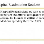 Hospital readmissions may not be a good quality indicator
