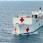Saving lives on the world's biggest hospital ship