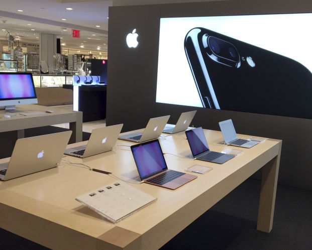 Apple Products Are Displayed At Macyu0027s Flagship Store In New York On Friday  As The Retailer