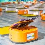 Flipkart is bringing in robots to help it sort through packages