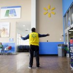 Walmart is testing ways to trim the size of its store management staff