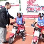 Honda organizes CRF 50 fest for future riders of India