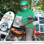 Retired Tamil Nadu policeman on a road trip